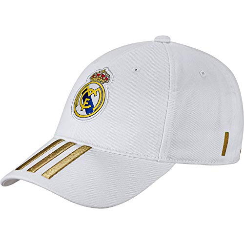 adidas Real C40 Gorra, Unisex Adulto, White/Dark Football Gold, Talla Única