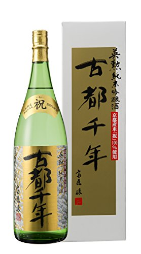 英勲 純米吟醸 古都千年 1800ml詰