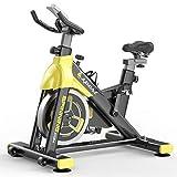 NXLWXN Bicicleta Estática Indoor - Bicicleta De Spinning - Ejercicio Bicicleta Entrenamiento Aeróbico, Cambio Silencioso, Carga De 150 Kg