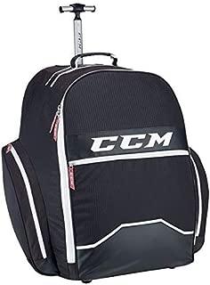 CCM Hockey 390 Wheeled Backpack Bag, Black 18