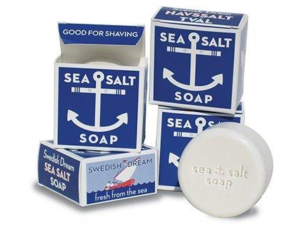 Swedish Dream Sea Salt Invigorating Bath Soap – Pack of 12, 4.3 oz Bars