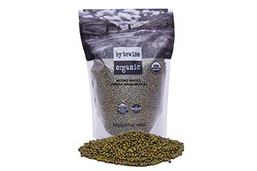 Bytewise Organic Green Gram whole/ Mung bean, 2 lbs