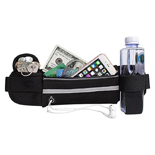 Bolsa de cintura unisex titular de la botella de agua corriendo deportes cinturón cintura bolsa deporte Ciclismo teléfono bolsa cintura paquete cinturón bolsa cintura