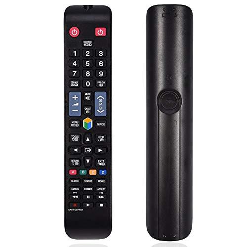 Zerone Ersatz Fernbedienung für Samsung Smart TV Universal Fernbedienung Fernseher TV Remote Control für Samsung AA59–00790A BN59–01178B BN59–01178r