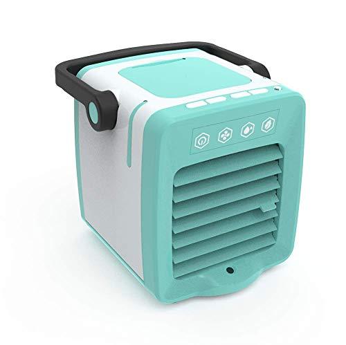 FFENGG draagbare airconditioner, 3-in-1, luchtbevochtiger, kantoor, miniventilator voor huis, binnen, keuken en buiten