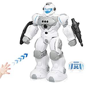Robots for Kids,Intelligent Programming Remote Control Robot Toy with Gesture Sensing,Gifts for 3 4 5 6 7 8 Year Old…