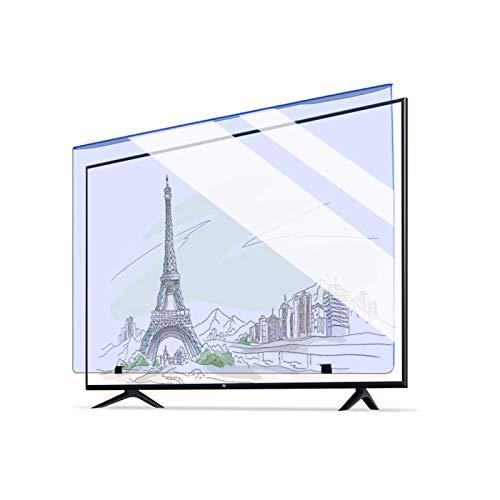 ASPZQ 2021 Filtro Acryl Anti Luz Azul 2 Mm Antichoque 90% de Transparencia Protectores Pantalla TV LCD (Color : Light Green, Size : 50 Inch 1111 * 660mm)