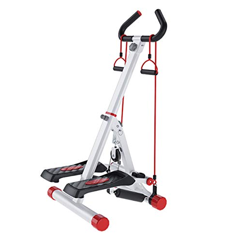 Stepping, Men and Women Stepper Cardio Exercise Trainer, Household handrail Stepping Machine Climbing Machine, with Multifunction Display Home Stepper
