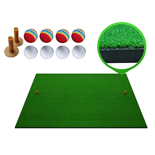 Great Deal! ZTJQD Personal Indoor and Outdoor Golf Practice Mats, Golf Mats, Home Backyard Golf Prac...