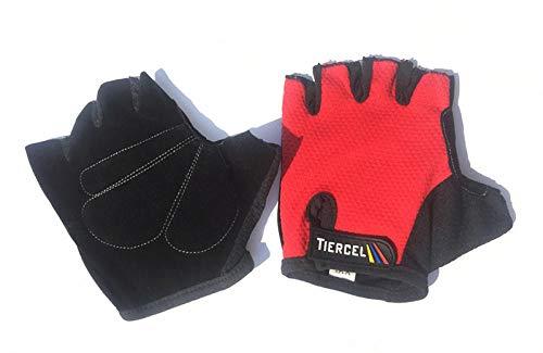 YCJCGG Zomer mesh fiets manege handschoenen/mountainbike outdoor sport halve vinger handschoenen/fietsen uitrusting