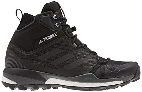 adidas Herren Terrex Skychaser Lt Mid GTX Leichtathletik-Schuh, Kern Schwarz/Kern Schwarz/Grau Sechs, 46 EU