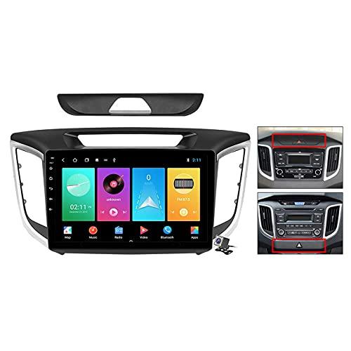 9 pulgadas pantalla Android 11 coche estéreo para Hyundai Creta IX25 2015-2019 incorporado Carplay auto soporte control de voz/Bluetooth 5G WiFi FM AM Radio/espejo Link/navegación GPS SWC