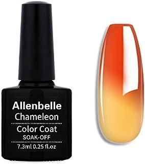 Allenbelle Smalto Semipermanente Camaleonte Nail Polish UV LED Gel Unghie (W-ST1338)