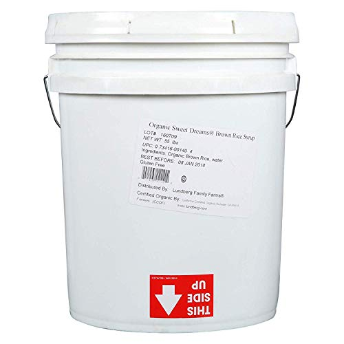LUNDBG - Syrup Brown Rice Og 5 gal