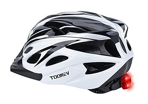 Adult Bike Helmet with LED Light Only $15.20 (Retail $37.99)