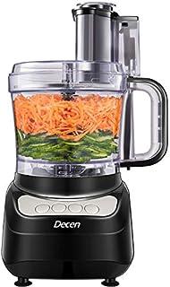 Robot Cuisine Multifonctions, DECEN 2L Robot de Cuisine, Options à 4 Vitesses Robot Menager Cuisine Hachoir Electrique, Ha...
