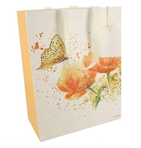 Bree Merryn Geschenktüte mit Apricot-Traum-Design, mittelgroß