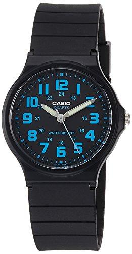 CASIO Herren Analog Quarz Uhr mit Resin Armband MQ-71-2