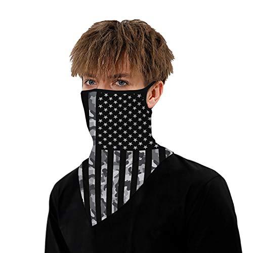 Buy-To Multifunctionele doek, 2 stuks, driehoekige sjaal, nekwarmer, zonwering, uv-zonwering, voor trekking en ongediertebestrijding