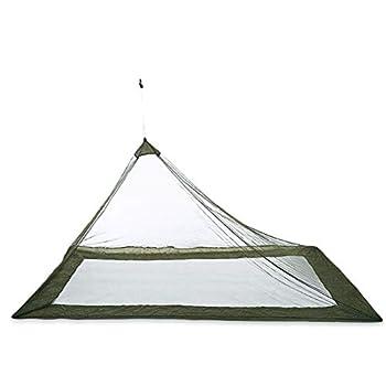 Moustiquaire Triangle, Moustiquaire Triangle De Camping Portable, Tente De Voyage Anti-Insectes, Fournitures De Plein Air armée Verte Taille Unique