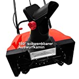 HECHT 9181 Elektro-Schneefräse - 3