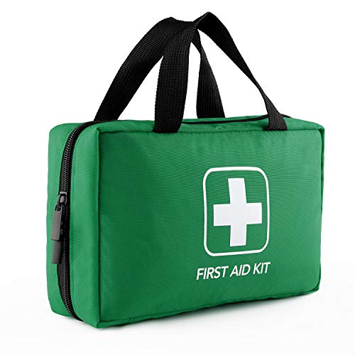 Risen Erste Hilfe Set, Kompaktes Überlebenskit für Medizinische Notfälle, Perfekt für Auto, Reise, Heim, Arbeitsplatz, Fahrzeug, Camping, Wandern, Bootfahren, Outdoor
