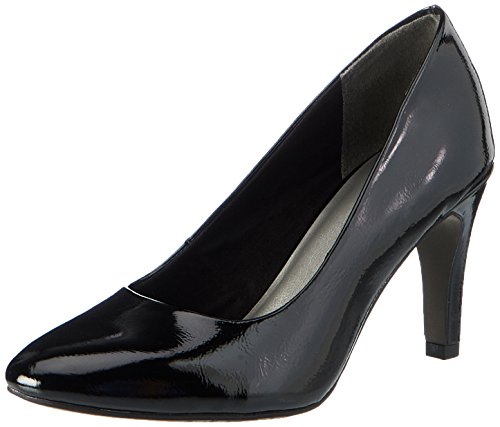 Tamaris Damen 22465 Pumps, Schwarz (Black Patent), 37 EU
