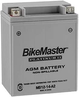 BikeMaster AGM Platinum II Battery MS12-14-A2 For Honda VF750C V45 Magna 1982-1983