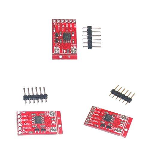 H HILABEE 3 Stücke Amplificateur LM358 Fensterkomparator Signalverstärker Rot Modul + Pin