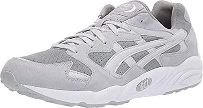 ASICS Tiger Men's Gel-Diablo Shoes, 10M, Stone Grey/Glacier Grey