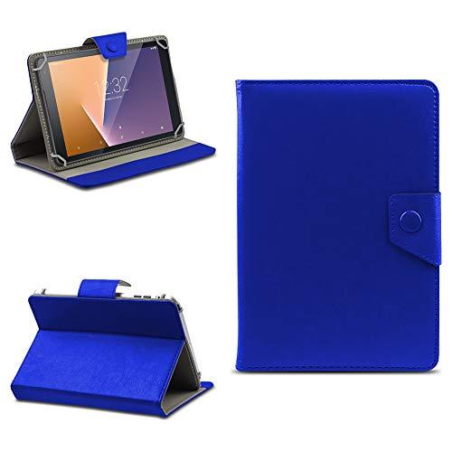 NAUC Vodafone Smart Tab N8 Tablet Schutzhülle Tasche Hülle Hülle Schutz Cover Etui Bag, Farben:Blau