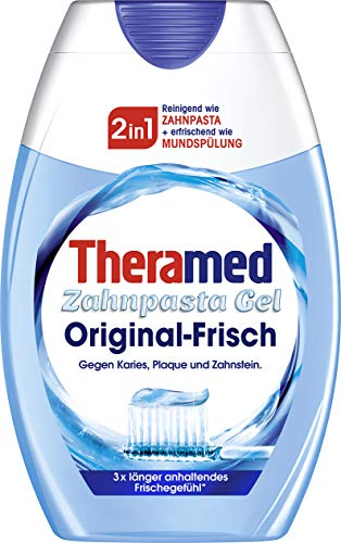 Theramed 2in1 Original Zahncreme, 3er Pack (3 x 75 ml)