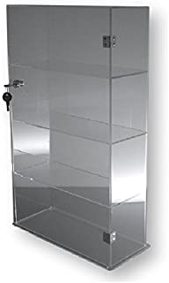 T'z Tagz Brand Acrylic Lucite Showcase Jewelry Pastry Bakery Counter Display W/Door & Lock (10