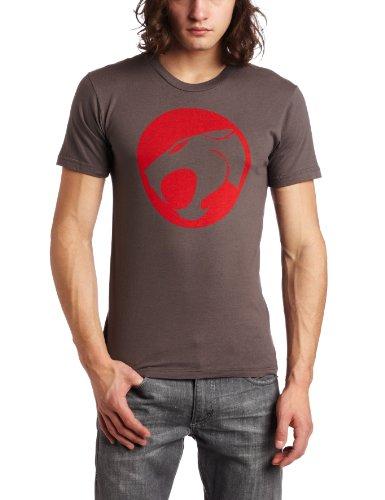 Dark Charcoal Thundercats Circle Logo T-shirt for Men, Small