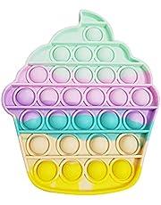 trendyest Pop it Fidget Toy , Jouet Sensory Push Bubble Pop Bubble Sensory Fidget Toy pour Enfants Adultes, Soulager Le Stress