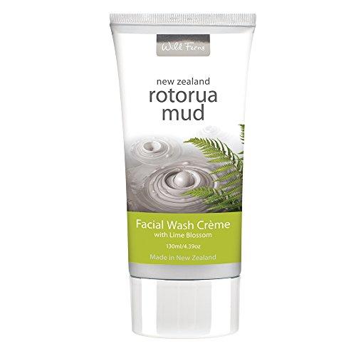 Wild Ferns Rotorua Mud Facial Wash 130ml x 1 [Personal Care]