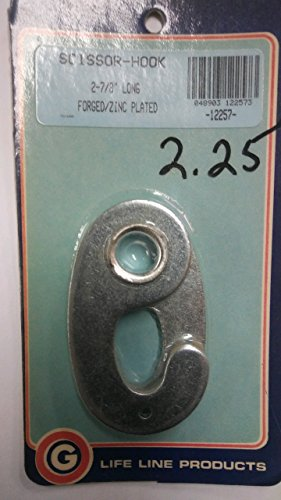 Why Choose Life Line Scissor Hook 2-7/8'' 12257 (Closeout)