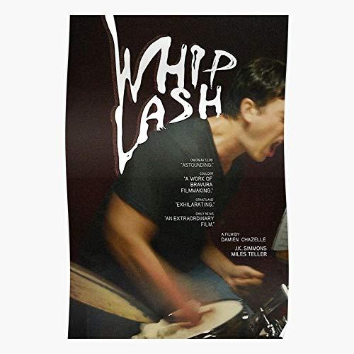 Miles Teller Movie Film Whiplash Music Geschenk für Wohnkultur Wandkunst drucken Poster 11.7 x 16.5 inch