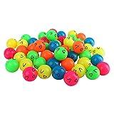 Schramm® 50 Piezas de Flummery Smiley 27mm Flummery Bouncy Ball Bouncy Ball Bouncy Ball