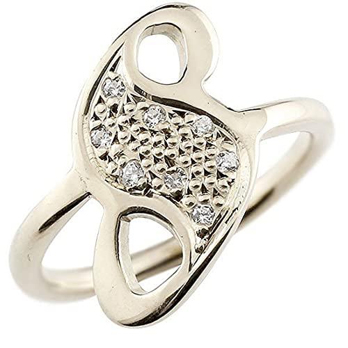[アトラス]Atrus リング メンズ pt900 プラチナ900 キュービックジルコニア ナンバー8 指輪 数字 ストレート 29号