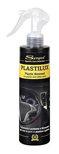 Synpol Plastilux Prodotto per la pulizia auto per lucidare e rinnovare la plastica, 250 ml