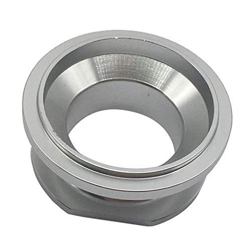 LHQ-HQ Golpe tocho de aluminio Válvula Adaptador de brida de 50 mm for el trial a máquina CNC Válvula