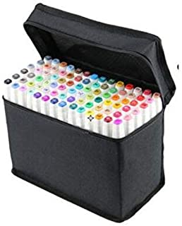 60 Colors Touch Five Pens and Markers Art Sketch Twin Marker Pens Broad Fine Point Interior sketch Dedicated White