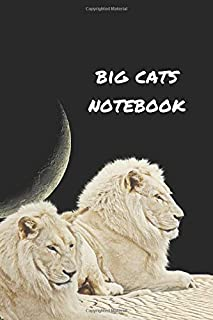 Big Cats Notebook: Part of the Big Five Collection