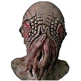 Doctor Who Ood Kopfbedeckung Latex Alien Monster Krake Maske Kostüm Krake Halloween Cosplay Zubehör