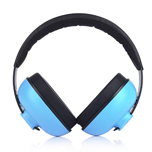 Image of Baby Noise Canceling Headphones Adjustable Noise Protection Ear Muffs for Autism Newborn Infant Headphones for 3 Months to 2 Years, Blue