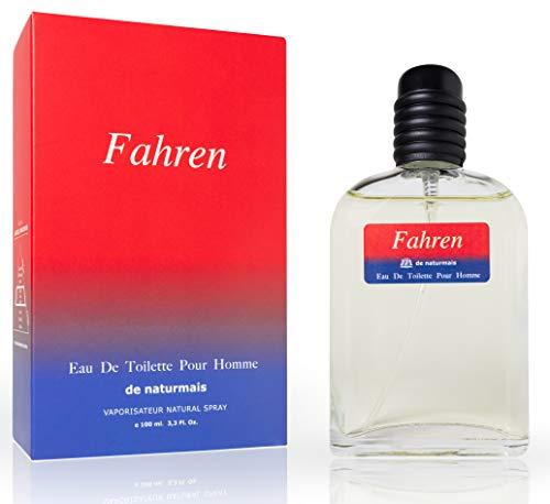 Fahren Eau De Parfum Intense 100 ml. Compatible con Fahrenheit, Perfume Equivalente Hombre