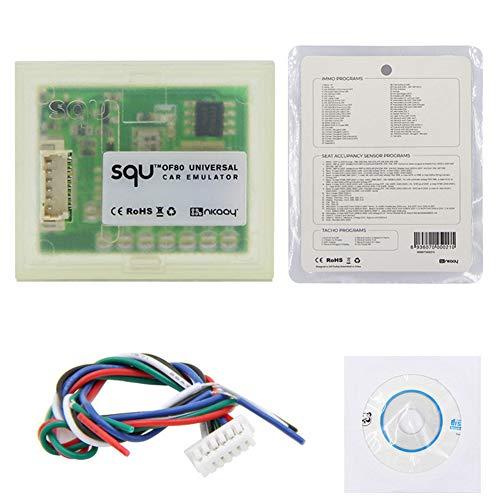 Ocmo - Emulador Universal para Coche SQU OF80 Compatible con los programas IMMO/Sensor de ocupación del Asiento/tacómetro