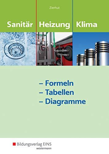 Sanitär-, Heizungs- und Klimatechnik: Formeln - Tabellen - Diagramme: Formelsammlung: Formeln - Tabellen - Diagramme / Formeln - Tabellen - Diagramme: Formelsammlung