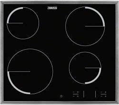 Zanussi - 4 hi-light, zona 21 cm 2300 w, marco inox, child lock, easy-fix
